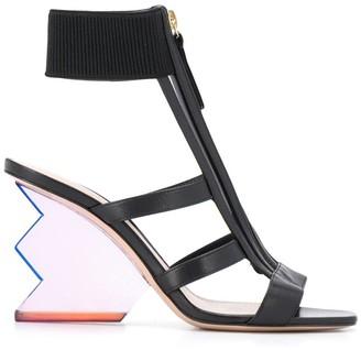 Nicholas Kirkwood AURORA sandals 90mm