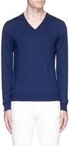 Isaia Merino wool V-neck sweater