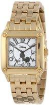 EWatchFactory Disney Women's W000477 Mickey Mouse Perfect Square Bracelet Watch