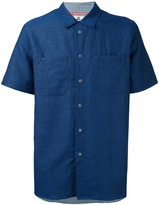 Paul Smith short sleeve shirt - men - Cotton/Linen/Flax - S