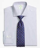 Brooks Brothers Madison Fit Alternating Track Stripe Dress Shirt