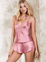 Very Sexy Satin & Lace Cami & Short Set