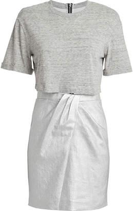 RtA Naomi Layered T-Shirt Dress