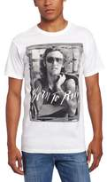 FEA Men's Bruce SpringsT-Shirtn B And W Born To Run Mens T-Shirt