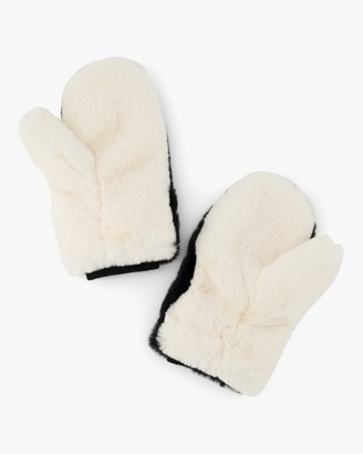 Faux Bunny Mittens