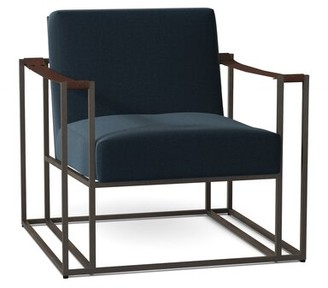 Bernhardt Dekker Armchair Body Fabric: 2909-043