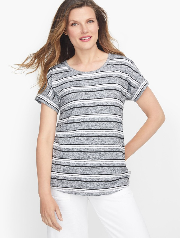 Talbots Pleated Back Pullover