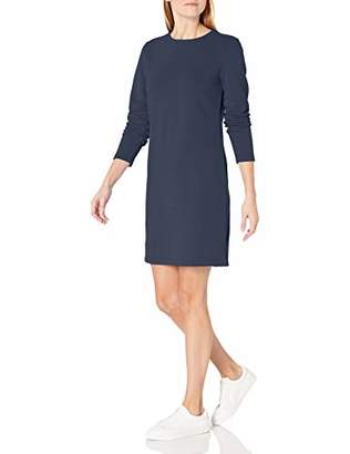 Amazon Essentials Women's Crewneck French Terry Fleece Dress