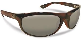 Flying Fisherman Azore Polarized Sunglasses, Tortoise Frame, Smoke Lens