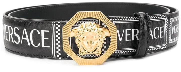 Versace logo Medusa belt