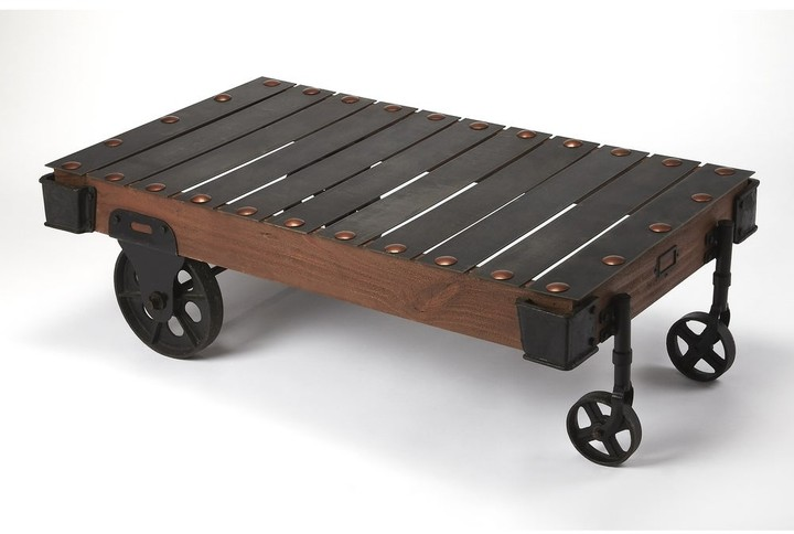 Thumbnail for your product : Butler Handmade Chesterfield Industrial Chic Coffee Table