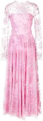 Christian Siriano embellished tulle full dress
