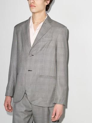 Edward Crutchley Prince of Wales single-breasted blazer