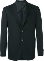 Tonello contrast pocket blazer - men - Linen/Flax/Cupro/Virgin Wool - 48