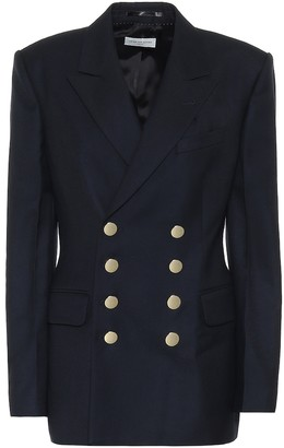 Dries Van Noten Double-breasted wool blazer