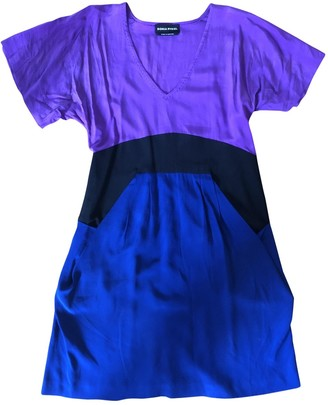 Sonia Rykiel Blue Silk Dresses