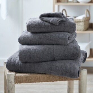 The White Company Classic Hydrocotton Bath Sheet, Slate, Bath Sheet