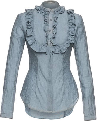 Lena Hoschek High Noon Ruffled Cotton Blouse