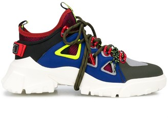 McQ Panalled Chunky Sneakers