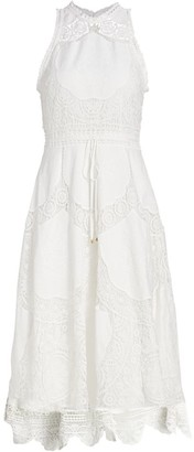 Zimmermann Bonita Crochet Midi Dress