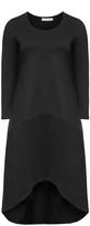 Isolde Roth Plus Size Panelled dip hem midi dress