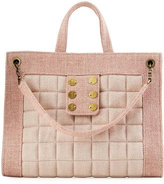 Kooreloo Shopper 1.2 Tweed Tote Bag w/ Sliding Chain Strap