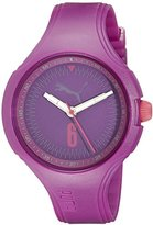 Puma Women's PU911201006 Wave - Purple Analog Display Quartz Watch