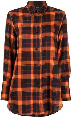 Aspesi Check Oversized Shirt