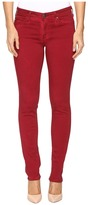 AG Adriano Goldschmied Stilt in Sea Soaked Ruby Rouge