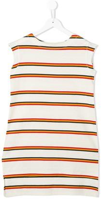 Marni Striped Pattern Dress