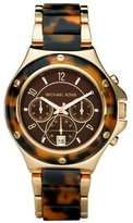 Michael Kors Women's MK5448 Gold Tone Stainles-Steel Quartz Watch with Dial