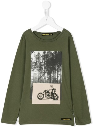 Finger In The Nose Printed Sweatshirt