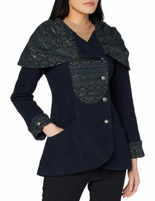 Joe Browns Women's Perfectly Perruvian Jacket Blue (Navy (Size:16)