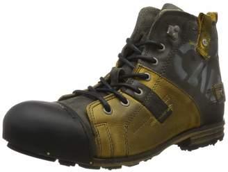 Yellow Cab Men's Industrial Biker Boots