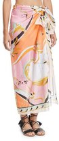 Emilio Pucci Printed Cotton Pareo Coverup