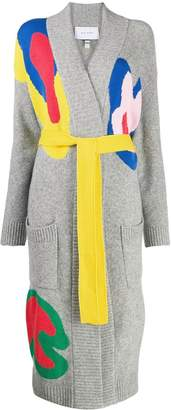 Mira Mikati multi-coloured longline cardigan