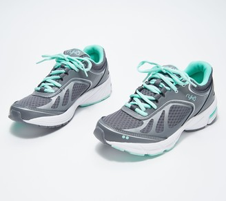 Ryka Mesh Lace-Up Walking Sneaker - Infinite Plus