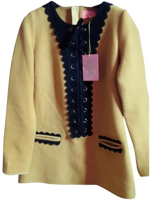 Manoush Gold Linen Trench coats