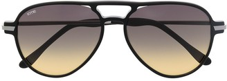 Kyme Louise aviator-frame sunglasses
