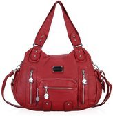 Hynes Victory Multi Front Pockets Shoulder Bags