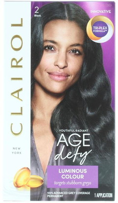 Clairol Nice'N Easy Age Defy Permanent Hair Colour Black