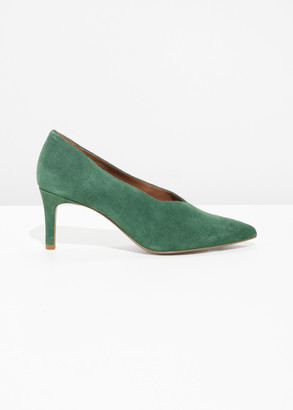 And other stories Suede Pumps