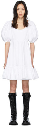 Alexander McQueen White New Day Dress