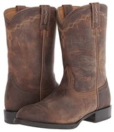 Ariat Heritage Roper (Distressed Brown) Cowboy Boots