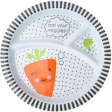 Giggle 3-division kids plate - carrot