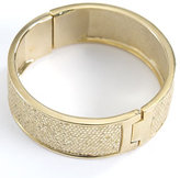 Betsey Johnson Bangle Bracelet w/ Snake Inlay