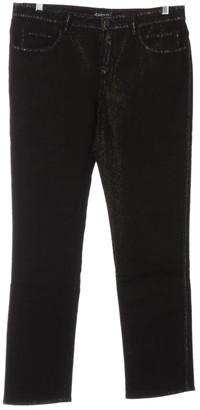 Chanel Black Cotton - elasthane Jeans for Women