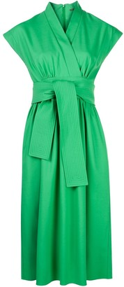 Adam Lippes Wrap Front Dress