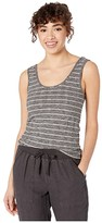 Splendid Lila Tank (Heather Charcoal/Oatmeal Stripe) Women's Clothing