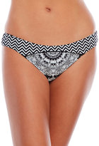 Red Carter Medallion Reversible Hipster Bikini Bottom